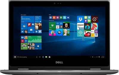 Dell Inspiron Core i7 6th Gen - (8 GB/256 GB SSD/Windows 10 Home) 6500U 2 in 1 Laptop(13.3 inch, Grey)