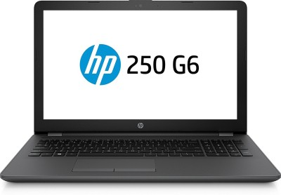 HP HP Notebook Celeron Dual Core 7th Gen - (4 GB/1 TB HDD/DOS) 250 G6 Laptop(15.6 inch, Black)