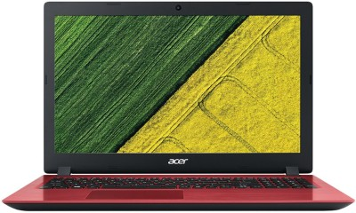 Acer Aspire 3 Pentium Quad Core - (4 GB/1 TB HDD/Linux) A315-31 Laptop(15.6 inch, Red, 2.1 kg)