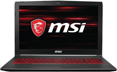 MSI GV Core i5 8th Gen - (8 GB/1 TB HDD/128 GB SSD/Windows 10 Home/6 GB Graphics) GV62 8RE-038IN Gaming Laptop(15.6 inch, Grey, 2.2 kg)