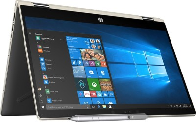 HP Pavilion x360 Core i5 8th Gen - (8 GB/256 GB SSD/Windows 10 Home) 14-cd0081tu 2 in 1 Laptop(14 inch, Pale Gold, 1.59 kg)
