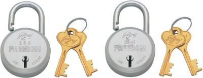 Godrej Freedom 6 Lever Lock(Silver, Gold)