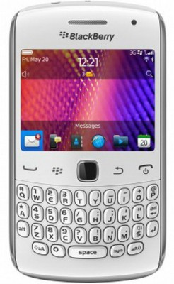 Blackberry 9360 (White, 512 MB)(512 MB RAM)