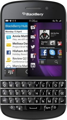 Blackberry Q10 (Black, 16 GB)(2 GB RAM)