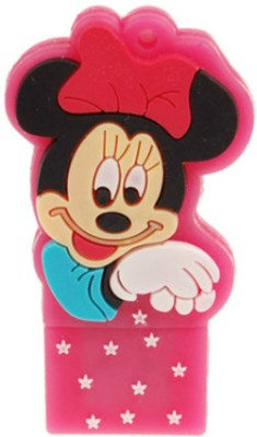 Microware Minnie Mouse Shape 4 GB Pen Drive