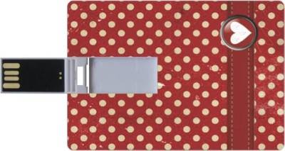 Printland Credit Card Shaped PC83369 8 GB Pen Drive(Multicolor)