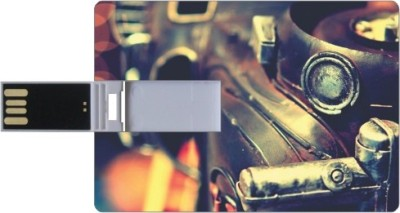 Printland Credit Card Shaped PC83042 8 GB Pen Drive(Multicolor)