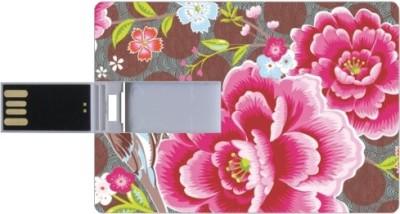 Printland Credit Card Shaped PC83323 8 GB Pen Drive(Multicolor)