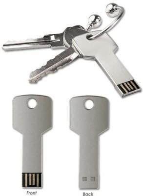 FLIPFIT 100 % Original Highspeed STYLISH FASHION key shape 16 GB Pen Drive(Silver)