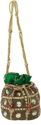 Naughty Gift Gallery Potli Potli(Green)