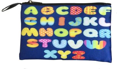 Lushomes Alphabet Pouch(Multicolor)