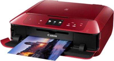 Canon Pixma MG7770 Multi-function Wireless Printer(Red, Ink Cartridge)
