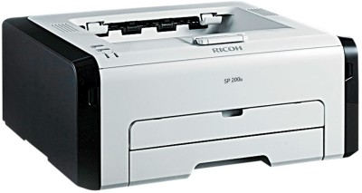 Ricoh Aficio SP 200N Single Function Printer(Black, White, Toner Cartridge)