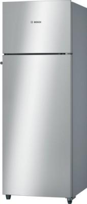 Bosch 290 L Frost Free Double Door Refrigerator(Silver, KDN30VS20I)