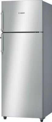 Bosch 288 L Frost Free Double Door 3 Star Refrigerator(Silver, KDN30VS30I)