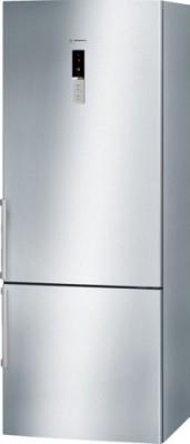 Bosch 505 L Frost Free Double Door Refrigerator(Silver Inox, KGN57AI40I)