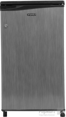 Sansui 80 L Direct Cool Single Door Refrigerator(Silver Hairline, SC091PSH-HDW)