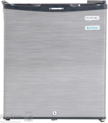 Videocon 47 L Direct Cool Single Door Refrigerator(Silver Hairline, VC061PSH-HDW)