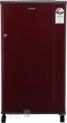 Sansui 150 L Direct Cool Single Door Refrigerator(Burgundy Red, SH163BBR-FDA)