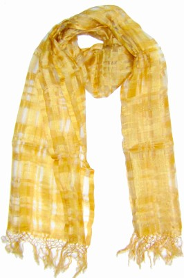 Dushaalaa Checkered Silk Women's Scarf