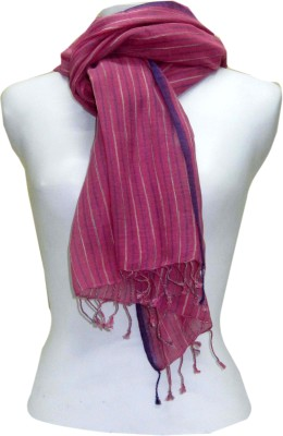 Dushaalaa Striped Cotton Women's Scarf