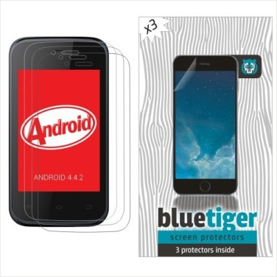 Blue Tiger Original Hd Clear X 3 (MD200) Screen Guard for Micromax Bolt D200