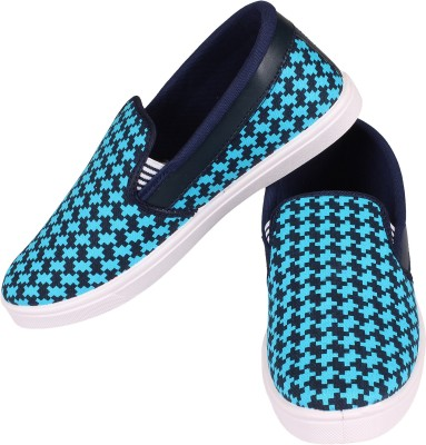 Genial Casuals, Loafers(Blue)