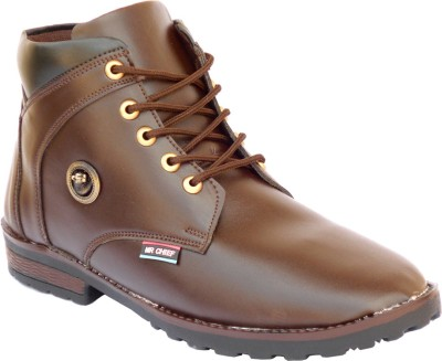 Mr. Chief Brown loin Boots(Brown)