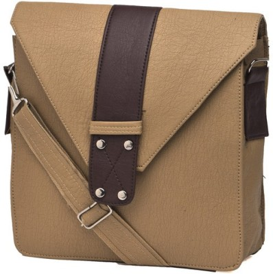 Igypsy Girls Khaki Leatherette Sling Bag
