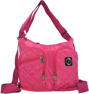 Cropp Women Pink Nylon Sling Bag