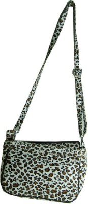 Essart Girls White PU Sling Bag