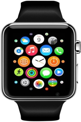 ShopAIS A1 Black Smartwatch(Black Strap Regular)