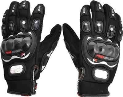 Probiker Racing, Riding, Biking Driving Gloves (XL, Black)