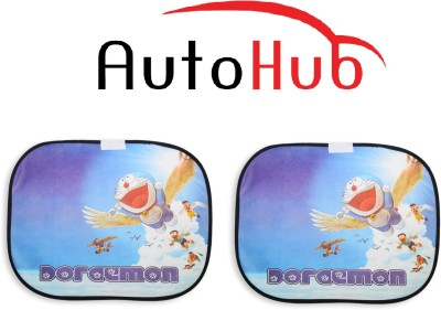 Auto Hub Side Window Sun Shade For Hyundai i20(Multicolor)