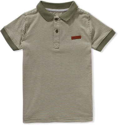 Ben Sherman Striped Boy's Polo T-Shirt