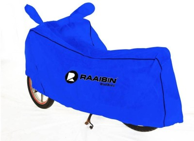 Raaisin Two Wheeler Cover for Hero(Ambition, Blue)