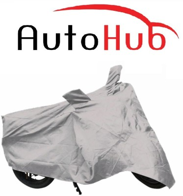 Auto Hub Two Wheeler Cover for Hero(Karizma, Silver)