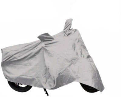 Retina Two Wheeler Cover for Universal For Bike(Silver)
