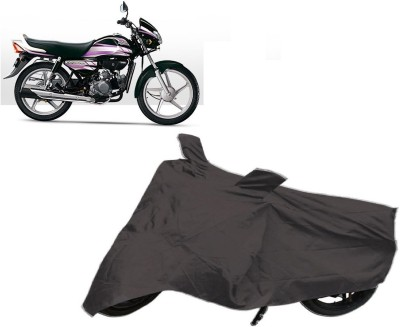 BrandTrendz Two Wheeler Cover for Hero(HF, Grey)