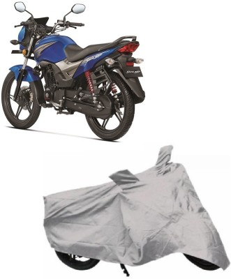 ACCESSOREEZ Two Wheeler Cover for Honda(CB Shine, Silver)