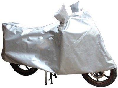 HMS Two Wheeler Cover for Kinetic(Nova, Silver)