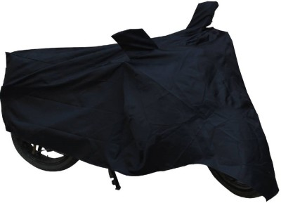Ultra Fit Two Wheeler Cover for Suzuki(Swish, Black)