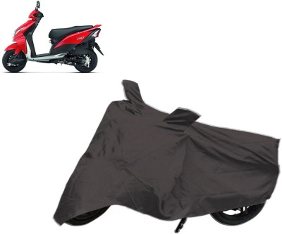 Autowheel Two Wheeler Cover for Honda(Dio, Grey)