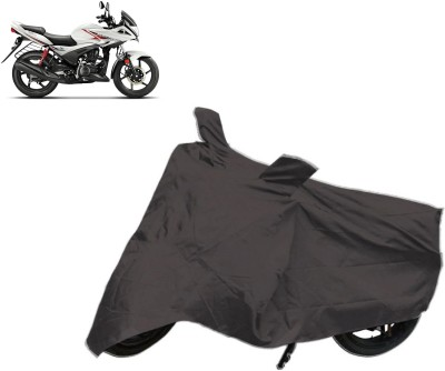 Bristle Two Wheeler Cover for Hero(Ignitor, Black)