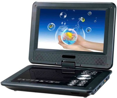 AKC Portable 7.8 Inch TFT EVD/DVD 3D Video Player With TV Tuner & USB And Game Function 7.8 inch DVD Player(Black)