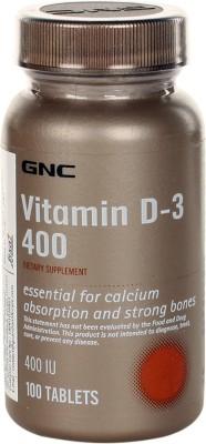 GNC Vitamin D-3 400(100 No)