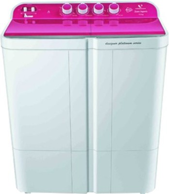 Videocon 7.5 kg Semi Automatic Top Load Washing Machine(WMVS75Z14-LPA)