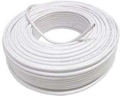 Robocam CCTV 90 Meters Pure Copper Wire Connector(White, Pack of 1)