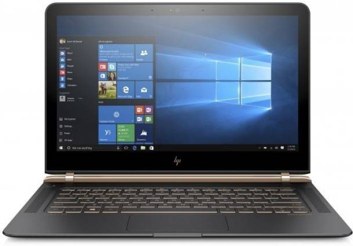 HP Spectre Core i7 6th Gen - (8 GB/512 GB SSD/Windows 10 Home) 13-v010TU Thin and Light Laptop(13.3 inch, Black, 1.11 kg)