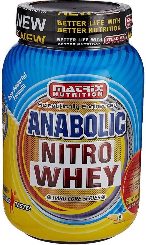 matrix anabolic nitro whey price in india